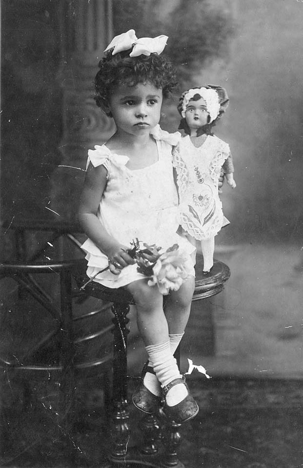 My mother as a child in 1930's Russia