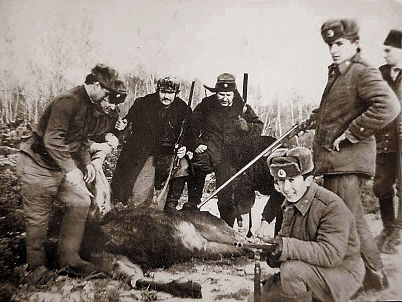 Russian Moose Hunt
