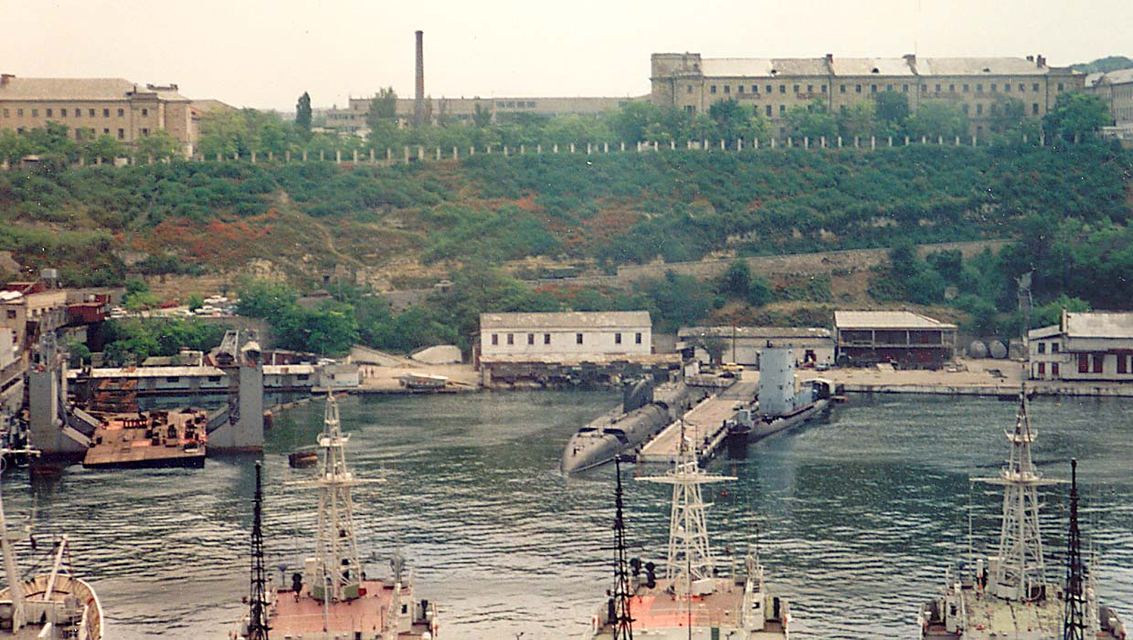 Russian Submarine near Sevastopol